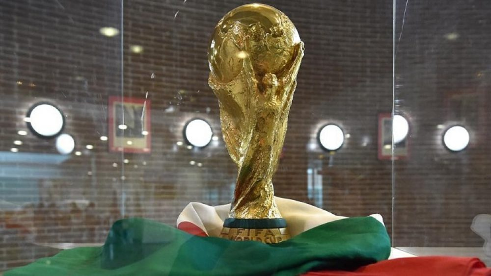 World Cup Trophy To Arrive Nigeria In March